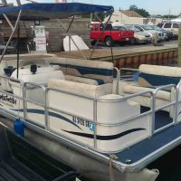 "18' Pontoon ""Treasure Island"""